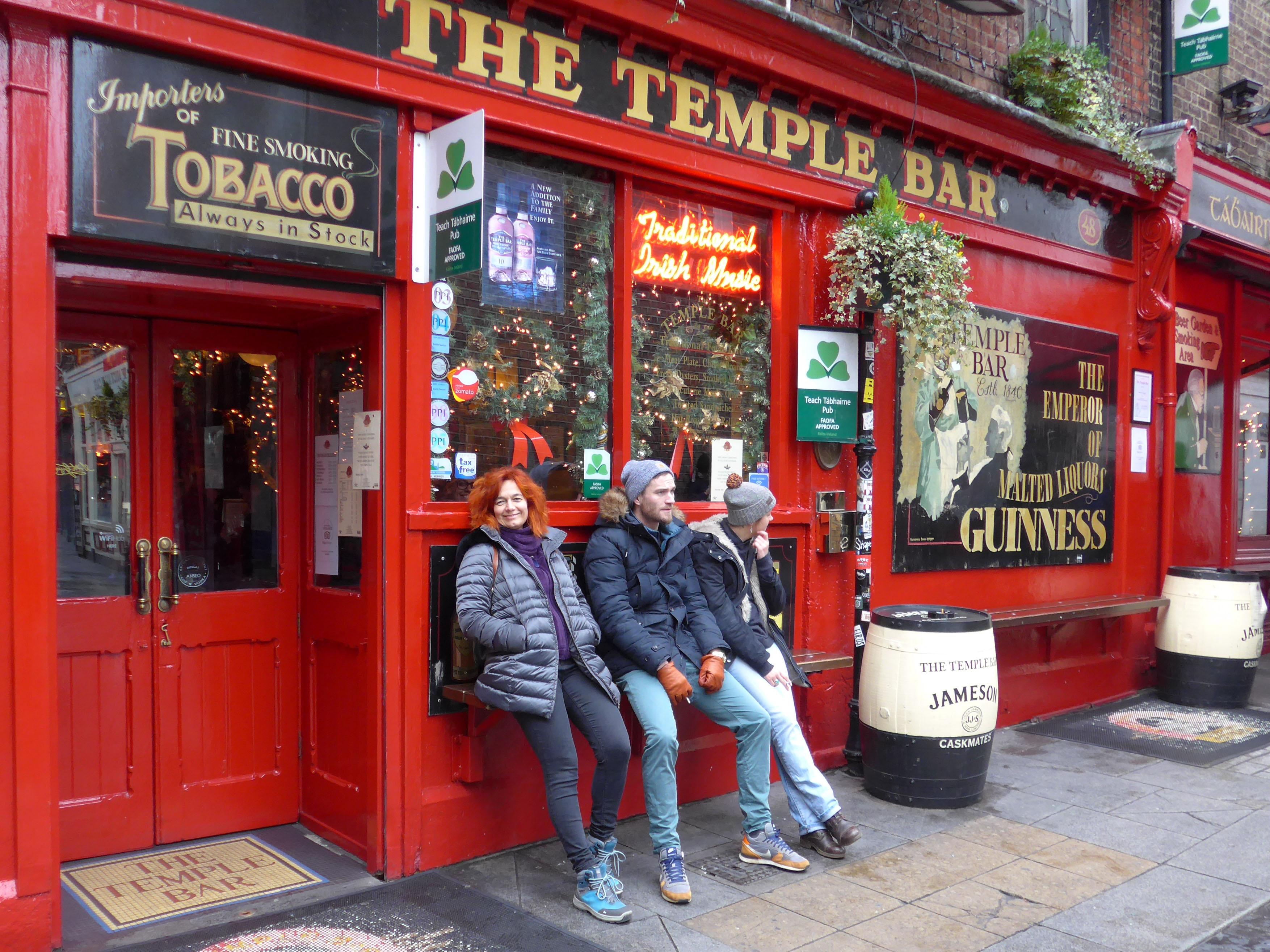 19 Irlanda- Temple Bar Dublino